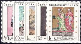 ** Tchécoslovaquie 1967 Mi 1748-52 (Yv 1601-5), (MNH)