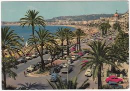 Nice: SIMCA 8 & ARIANE, PLYMOUTH BELVEDERE '58, 3x RENAULT 4CV & DAUPHINE, CITROËN TRACTION AVANT & 2CV, PEUGEOT 404 - Toerisme