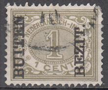 NETHERLANDS INDIES     SCOTT NO. 64      USED        YEAR  1908 - Niederländisch-Indien