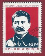 1979 - Jossif Stalin - Yt:AL 1837 - Used - Albanien