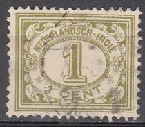 NETHERLANDS INDIES     SCOTT NO. 102      USED        YEAR  1912 - Niederländisch-Indien