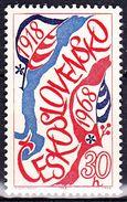 ** Tchécoslovaquie 1968 Mi 1762 (Yv 1619), (MNH)