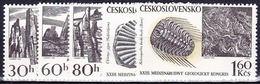 ** Tchécoslovaquie 1968 Mi 1809-13 (Yv 1657-61), (MNH)