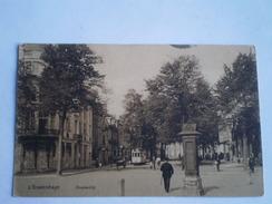 's Gravenhage (Den Haag) Kneuterdijk Met Tram En Apollo Theater Reklame Zuil Gelopen 1910 - Den Haag ('s-Gravenhage)