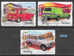 Australie - Automobiles - Oblitérés - Lot 264