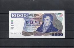 ARGENTINA 1985, 10000 PESOS, PK-319a, SC-UNC, SC-UNC, 2 ESCANER - Argentina
