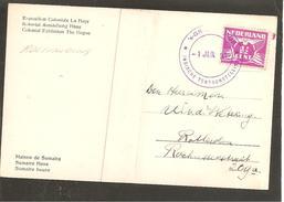 Roltanding 59 Op Kaart Den Haag Indische Tentoonstelling Sumtra Huis 1932
