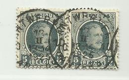(204) Timbre Belgique Roi Albert I   N° 193 - 5c - 1922-1927 Houyoux
