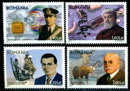 2011 Romania, Roumanie, Rumänien - WORLD PREMIERES (II) Romanian Inventors 4v. MNH
