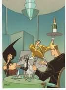 Carte Postale, Illustrateur,ZACOT, Femme, Restaurant, - Zacot, Fernand