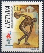 PIA  -  LITUANIA  - 1996  : Giochi Olimpici Di Atlanta -   (Yv  540-41)