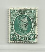 (250) Timbre Belgique Roi Albert I   N° 194 - 10c - 1922-1927 Houyoux