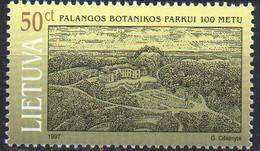 PIA  -  LITUANIA  - 1997  : Centenario Del Parco Naturale Di Palanga   (Yv  560)