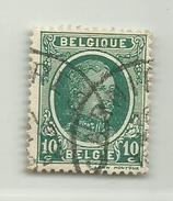 (267) Timbre Belgique Roi Albert I   N° 194 - 10c - 1922-1927 Houyoux
