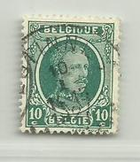 (268) Timbre Belgique Roi Albert I   N° 194 - 10c - 1922-1927 Houyoux