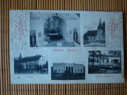 Sellnow Neumark, Kirche, Apotheke, Gutshaus Adolfsaue, Gelaufen 1906 - Pommern