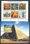 Guinea Bissau / Guinée-Bissau 2003 Seven Wonders Of The Ancient World.2 S/S.MNH