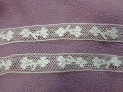 Dentelle Blanche Ancienne 1 Metre X1.6 Cm - Vintage Clothes & Linen