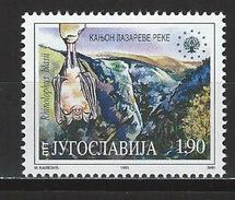 Jugoslawien Mi 2721 ** MNH Rhinolophus Blasii