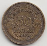 @Y@    Frankrijk  50 Centimes  1938  ( 4671 ) - Frankreich