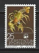 Lliechtenstein Mi 644 ** MNH Astacus Astacus