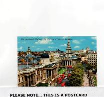 Postcard - The National Gallery - St. Martins Church London Very Good - Postcards