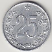@Y@    Tsjechoslowakije    25  Haleru   1962   ( 4673 ) - Tchécoslovaquie