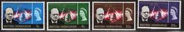 British Honduras  Churchill Commemoration 1966 Part Of An Omnibus Issue.