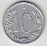 @Y@    Tsjechoslowakije    10  Haleru   1962   ( 4674 ) - Tchécoslovaquie