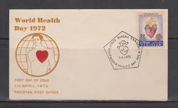 Pakistan FDC 1972 World Health Day - Pakistan