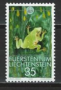 Lliechtenstein Mi 968 ** MNH Hyla Arborea