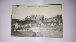 MIRAUMONT 80 ECOLE DES JEUNES FILLES SOMME CPA Animee Postcard - France