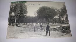CURLU 80 LA PLACE SOMME CPA Animee Postcard - France
