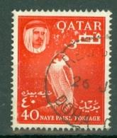 Qatar: 1961   Shaikh Ali Al-Thani    SG31   40n.p.    Used - Qatar