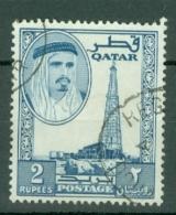 Qatar: 1961   Shaikh Ali Al-Thani    SG35   2R    Used - Qatar