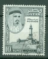 Qatar: 1961   Shaikh Ali Al-Thani    SG37   10R    Used - Qatar