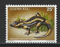 Luxemburg 1171 ** MNH Salamandra Salamandra