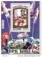 Corée Du Nord Prehistory/Prehistoire  Dinosaure Space/Espace  BF