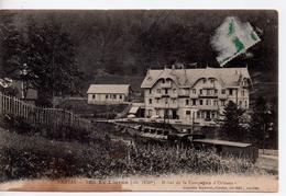 CPA.15.1914.Le Lioran.Hotel De La Compagnie D'Orléans.animé Train. - Otros Municipios
