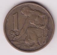 @Y@    Tsjechoslowakije   1 Koruna  1962          ( 4680 ) - Czechoslovakia