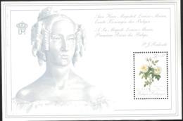 Belgium 1989 Roses, Aimé Vibère Mi Bloc 59 MNH(**)