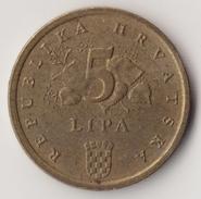 @Y@    Kroatië   5 Lipa   1997          ( 4681 ) - Croatia