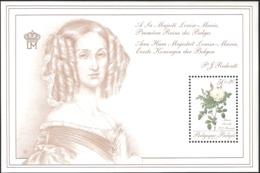 Belgium 1990 Roses, Maria Léonida Mi Bloc 60 MNH(**)