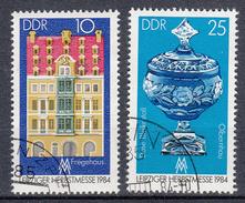 DDR - Michel - 1984 - Nr 2891/92 - Gest/Obl/Us