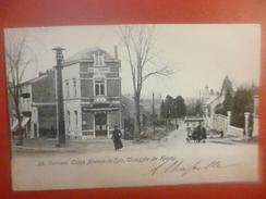 Verviers :Coins Avenue De Spa Et Chaussée De Heusy-ANIMATION-CAFE-ATTELAGE (V1937) - Verviers