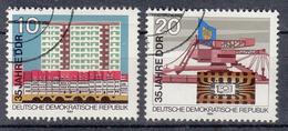 DDR - Michel - 1984 - Nr 2888/89 - Gest/Obl/Us - Usati