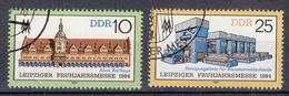DDR - Michel - 1984 - Nr 2862/63 - Gest/Obl/Us