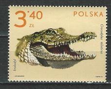 Polen Mi 2167 ** MNH Crocodylus Niloticus