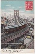 NEW YORK / CURVE ET BROOKLYN TERMINAL - BROOKLYN BRIDGE - Brooklyn