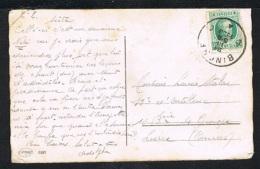 Année 1927 - COB 254 Sur Carte Postale